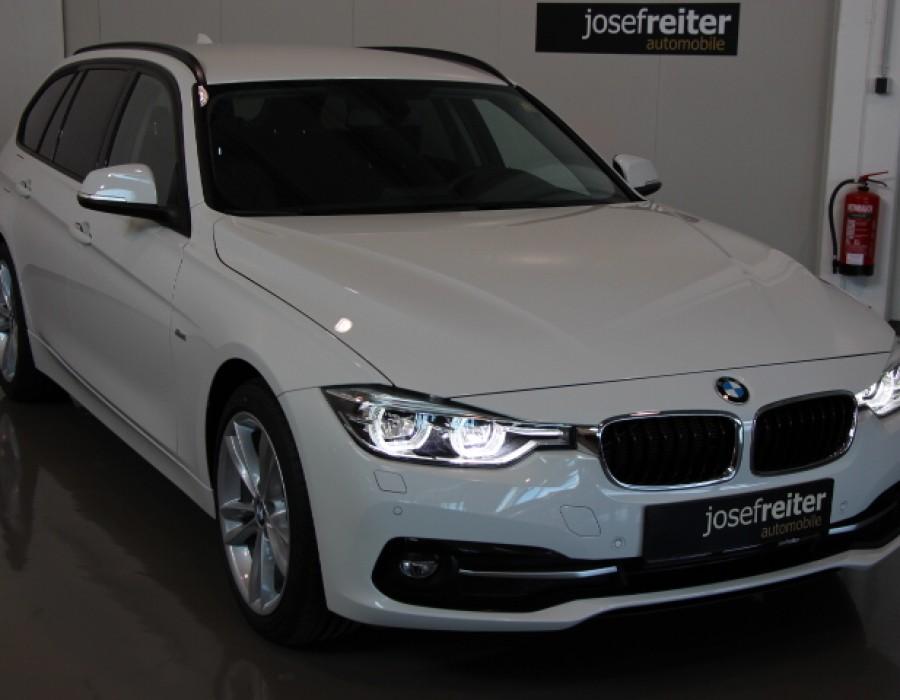 BMW 316d Touring Sport Line/ Tempomat/LM 18″/PaketCare