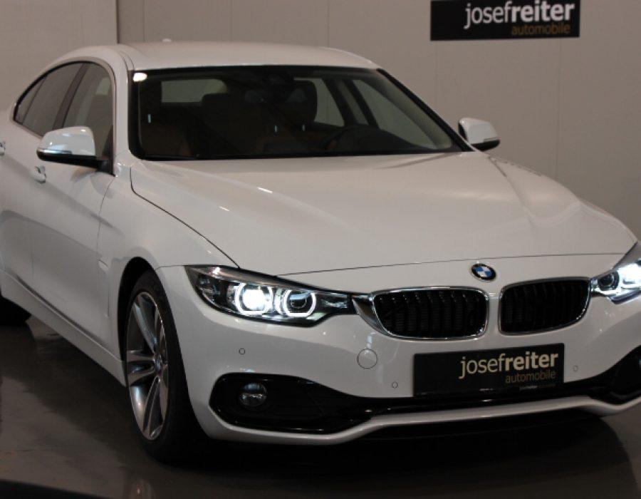 BMW 418d Gran Coupe Sport Line Aut.