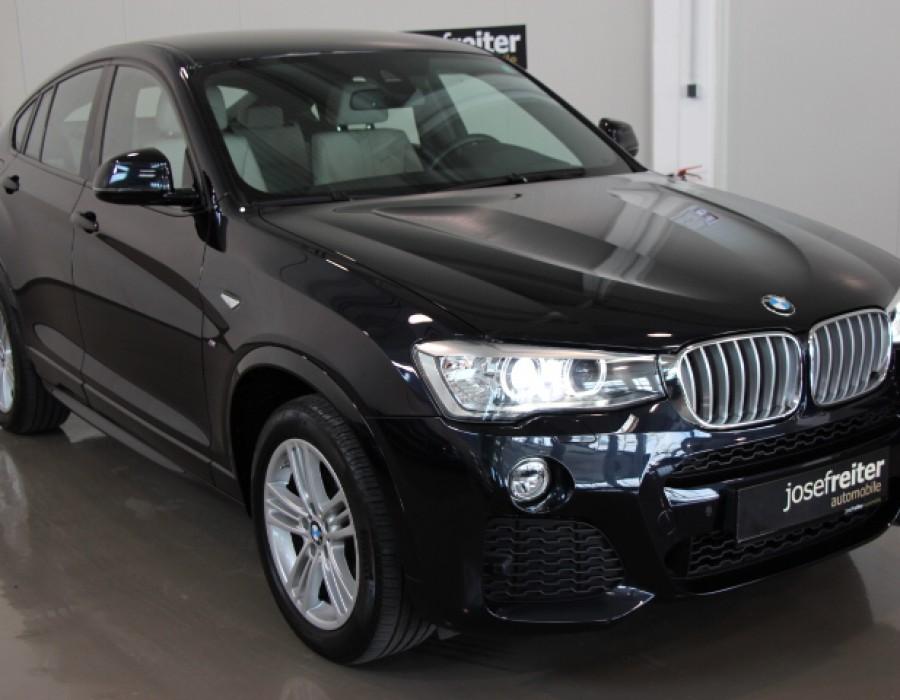 BMW X4 30d xDrive Ö-Paket Plus/M-Sportpaket/Leder/Navi Prof.